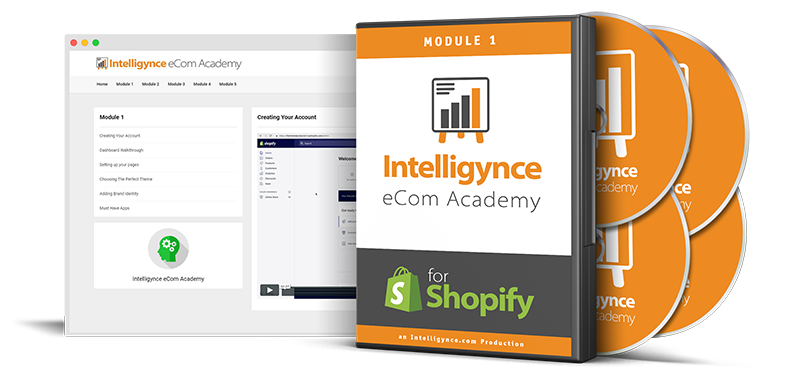Intelligynce – Courses To Get Your eCom Store Making Quick Sales